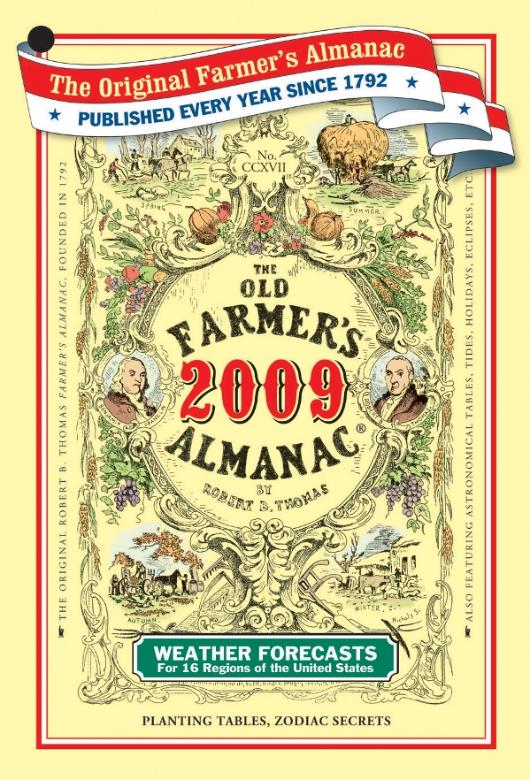 Cover of the 2009 Old Farmer's Almanac