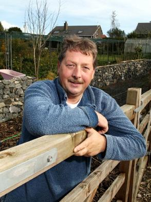 Northern Ireland's Sammy Wilson; Environment Minister of the UK