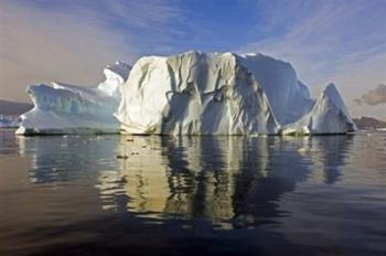 An iceberg shown in North Bay, Rothera Point, Adelaide Island, Antarctica.  Credit: AFP/Pete Bucktrout.